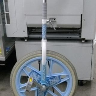 札幌 ブリヂストン 一輪車 ブルー 水色 18インチ スタンド付き