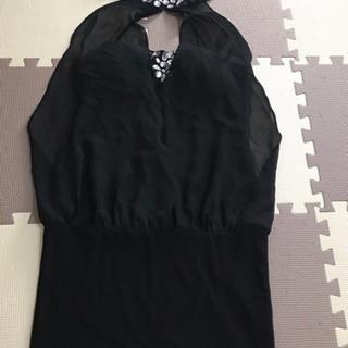 黒 ミニドレス