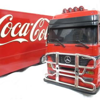 コカコーラ メルセデスベンツ ラジコン 120th トレーラー ...