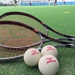 【試合が】ソフトテニス楽しみましょう【したい】