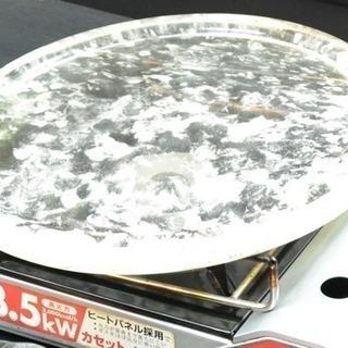 本物‼︎焼肉用水晶プレート34cm(専用台付き)