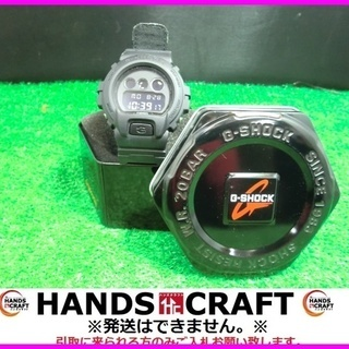 カシオ Gショック 時計DW-6900BBN