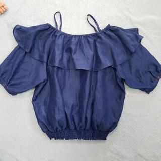 オフショルダーの服 - 服/ファッション