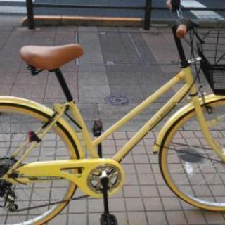 【値下げしました】ほぼ新品のシティサイクル、マイパラスM501