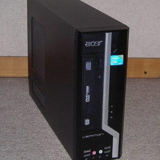 【終了】ACERデスクトップ X480(E7500/2G/160G)
