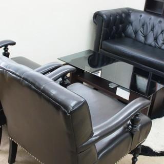 高級感漂う応接セット ソファー テーブル ご家庭でもオフィスでもOK