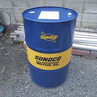 スノコ SUNOCO 空ドラム缶 200L 世田谷ベース テーブルに