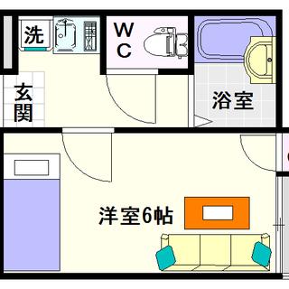 【ライフステージ難波】3号タイプ!1Kタイプ!4万円台でセパレート...