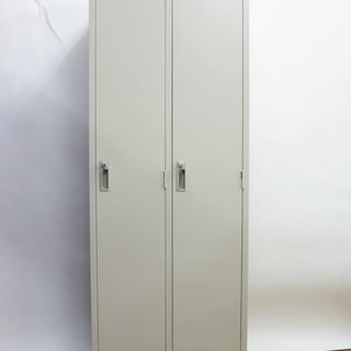 美品 スチールロッカー  2人用 鍵付き 更衣ロッカー オフィス...