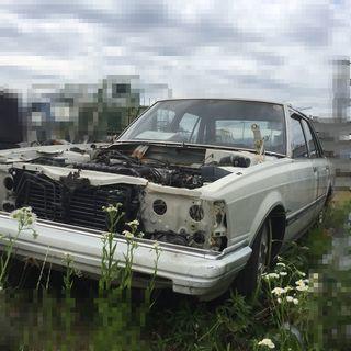 希少車!!】マークII GX61 グランデ 部品取り車 レストア...