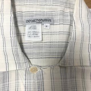 アルマーニの半袖ビックロングシャツ