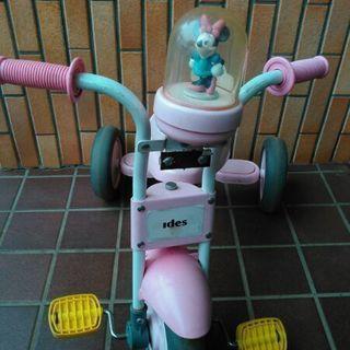 ミニーちゃんの三輪車