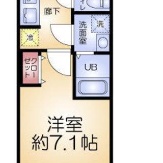 堺筋本町5分 家賃30,000円 共益費5,000円 34.19㎡ 1K