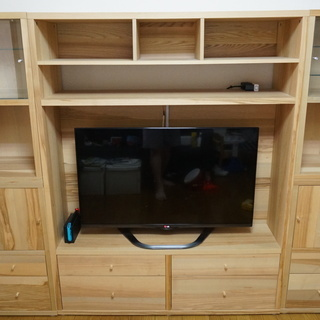 イケア(IKEA) テレビ台収納家具setトレービー(TRABY)