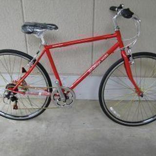 〔値下げ〕新品・クロスバイク(700-28C・外装6段変速)