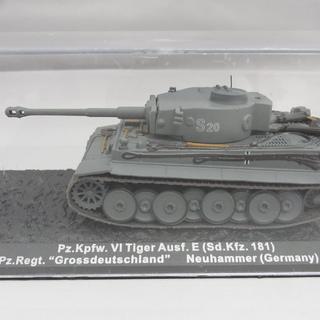 1/72スケール 戦車模型 ティーガー ドイツ 1943 ディア...