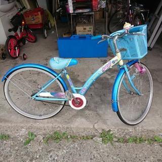 24インチ  女児自転車♥️値下げ⤵️