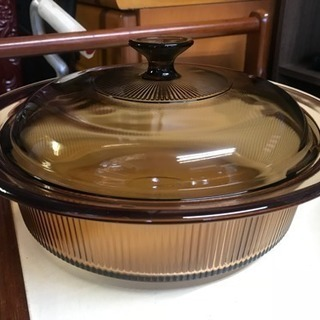 PYREX 蓋付き鍋 2個セット