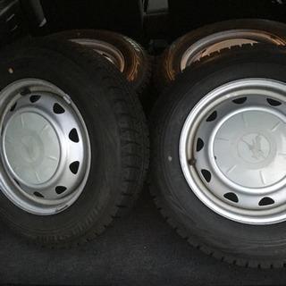 軽四スタッドレス 新品タイヤ