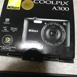 Nikonカメラ coolpixA300 充電器なし
