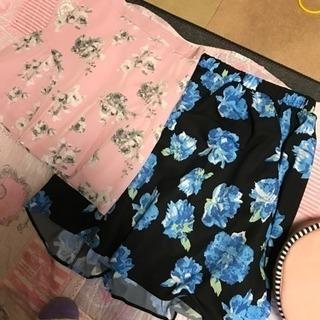 新品 スカート2枚セット