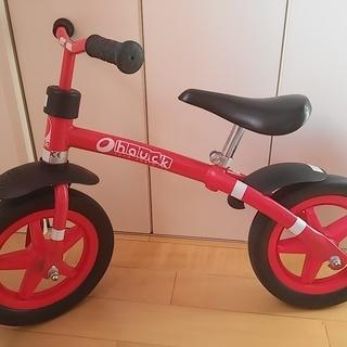 足けりバイク ヘルメット 鈴ベル 膝肘パット 鍵チェーン付き 超軽...