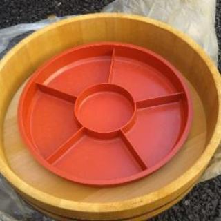 寿司桶 すし桶 ネタ皿 手巻き寿司 セット