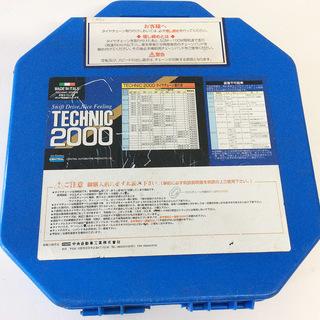 タイヤチェーン TECHNIC 2000 イタリア製 高級チェー...