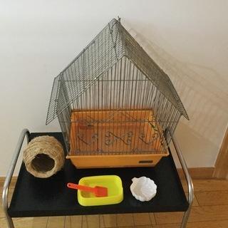 値下げ‼️鳥かごセット
