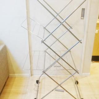 【美品】大木製作所 タワー型室内物干し