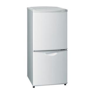 グレー×シルバー 122L 冷蔵庫 差し上げます*