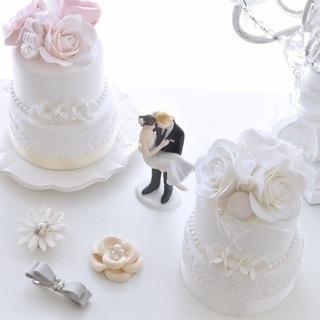 銀座でプレ花嫁さま向けワークショップ♪クレイケーキとアクセサリー♡
