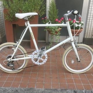 20インチミニベロ・スポーツタイプの自転車です。市内近郊お届けします