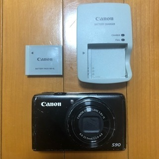 中古 Canon PowerShot S90 デジタルカメラ