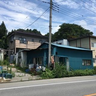 芳賀郡益子町売戸建 780万 幅員10m町道沿い 別途倉庫(冷蔵庫...