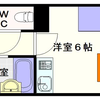 【ベラカーサァ福源】2号タイプ!1Rタイプ!リーズナブルなセパレ...