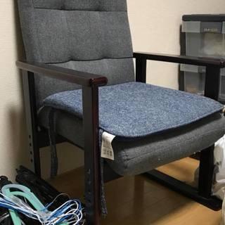 【0円】椅子・一人用チェア・ソファー風?比較的きれいです。