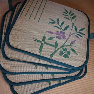 い草の座布団 5枚 250円