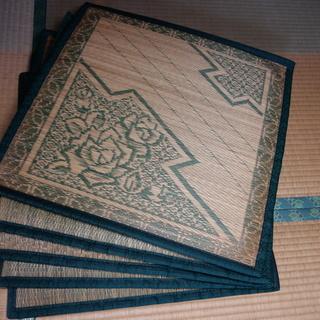 い草の座布団(角型)5枚 250円