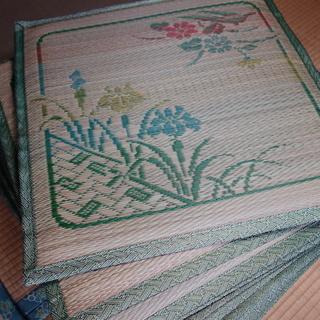 い草の座布団(角型)10枚 200円