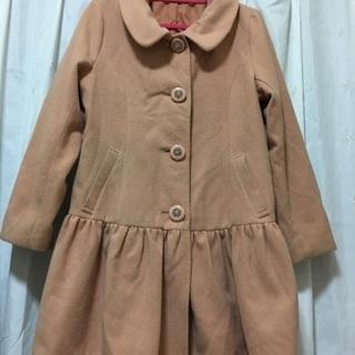 LLサイズ ピンク系 冬物コート