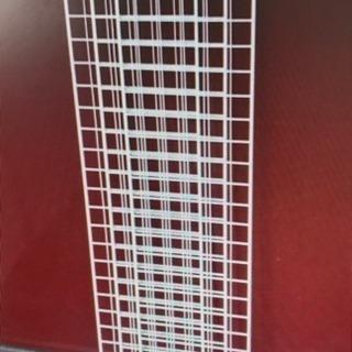 ネット 3枚組 120x30 業務用 ピッチ5cm 白