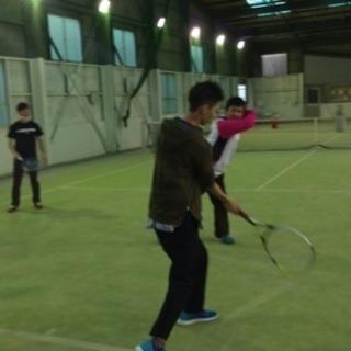 テニスレッスン!