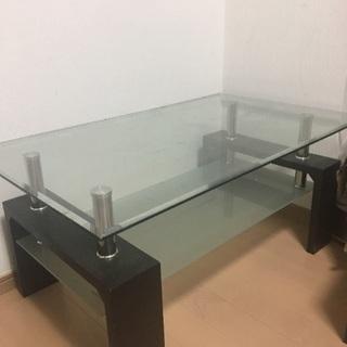 *受け渡し決定*ガラステーブル売ります
