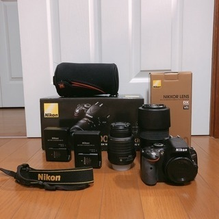 Nikon D5100 ダフルズームレンズキット