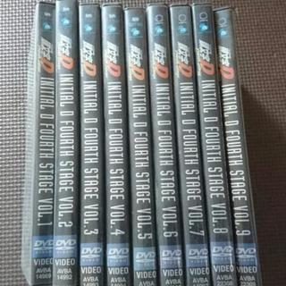 頭文字D FORTH STAGE DVD VOL.1~9