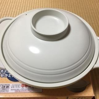 IHクッキングヒーター対応、水炊き鍋  27㎝
