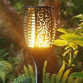 新品 ソーラーライト ガーデンライト 電気代不要!