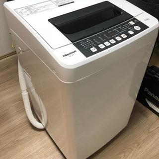 【極上美品】Hisense(ハイセンス)全自動洗濯機 5.5kg...