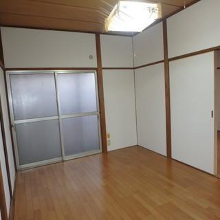 弊社直接契約のため、初期費用ゼロ! 広々2DKのお部屋です!